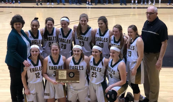 State Bound!  Congratulations Olpe Lady Eagles 🦅